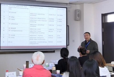 Parallel Session: Corpus Linguistics Research①